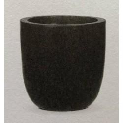 Basik Topf Basalt-schwarz