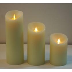 Nachfüllset für Kerzenbox 12 ILU-Kerzen Ø 8cm