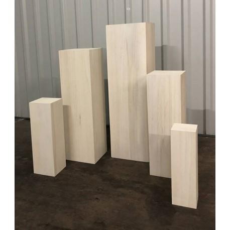 Säulenset (5 Stück) - weiß